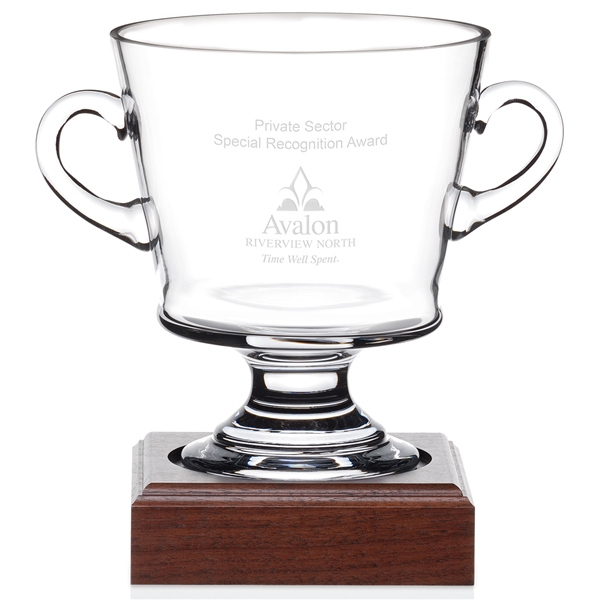 Promotional Nantucket Cup with Wood Base