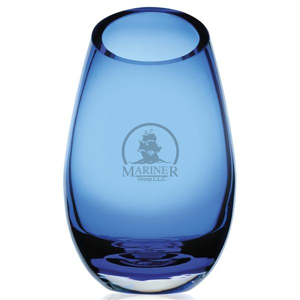 Promotional Cairo Blue Vase - Large
