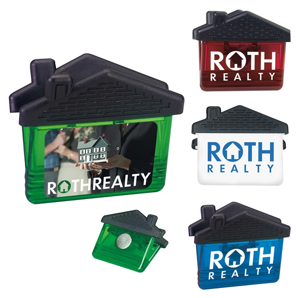 Promotional House Shape Magnetic Clip