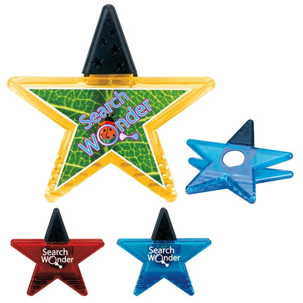 Promotional Star Shaped Magnet Clip