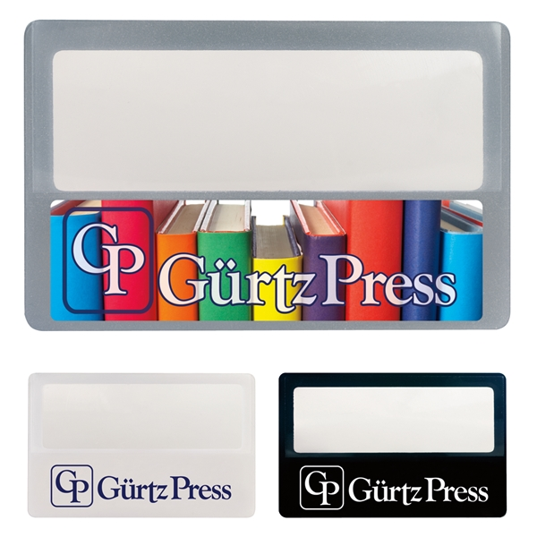 Promotional Credit Card Magnifier