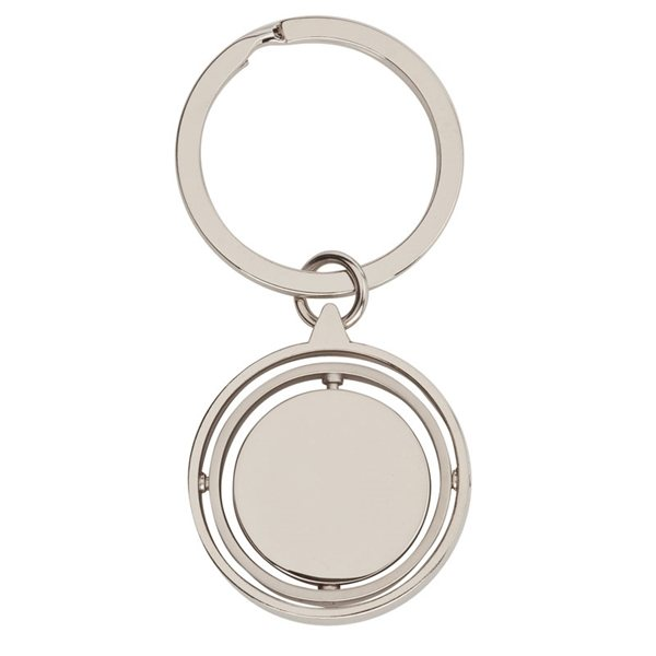 Promotional Spinning Ring Keychain