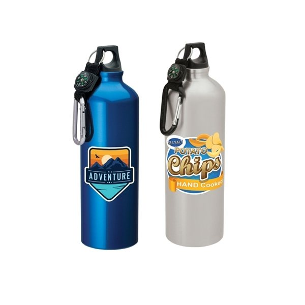 Promotional Vilma 33.8 oz Flask with Carabiner