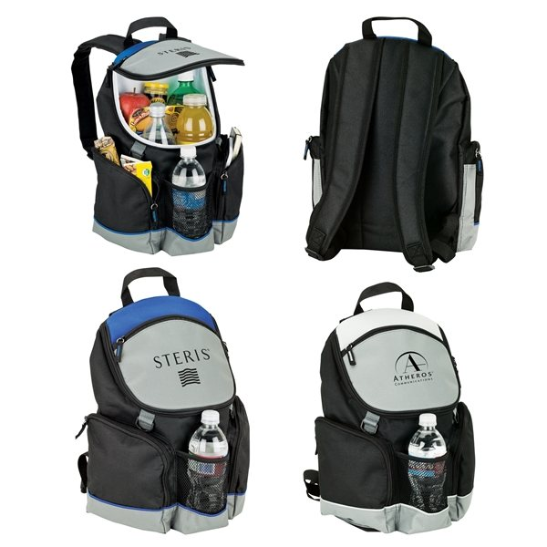 Promotional Coolio - 12- Can Backpack Cooler