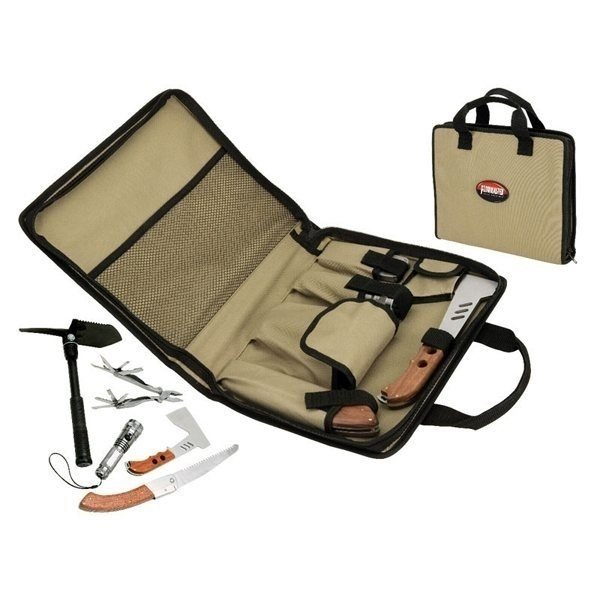 Promotional 5- in -1 Camping / Survival Canvas Kit