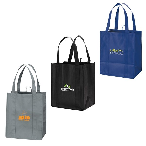 Promotional Non - Woven Stesso - Tote Bag with Gusset