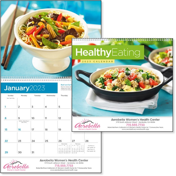 Promotional Healthy Eating - Triumph(R) Calendars