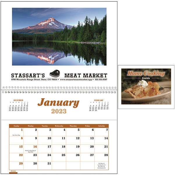 Promotional Home Cooking Guide Pocket - Triumph(R) Calendars