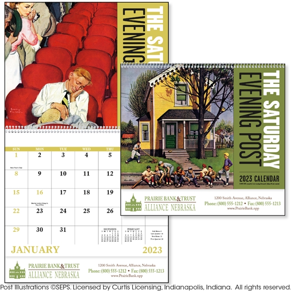 Promotional The Saturday Evening Post - Spiral - Good Value Calendars(R)