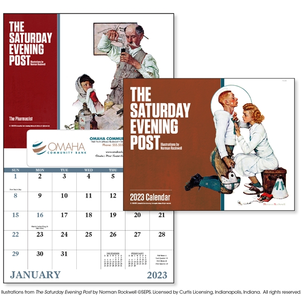 Promotional The Saturday Evening Post - Window