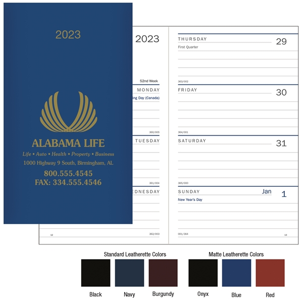 Promotional Classic Weekly Pocket Planner - Triumph(R) Calendars