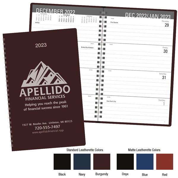 Promotional Classic Weekly Desk Planner - Triumph(R) Calendars