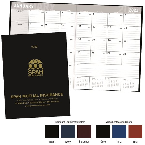Promotional Classic Monthly Planner - Triumph(R) Calendars
