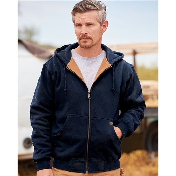 Promotional DRI DUCK Crossfire Heavyweight Power Fleece Jacket with Thermal Lining Tall Sizes - Colors