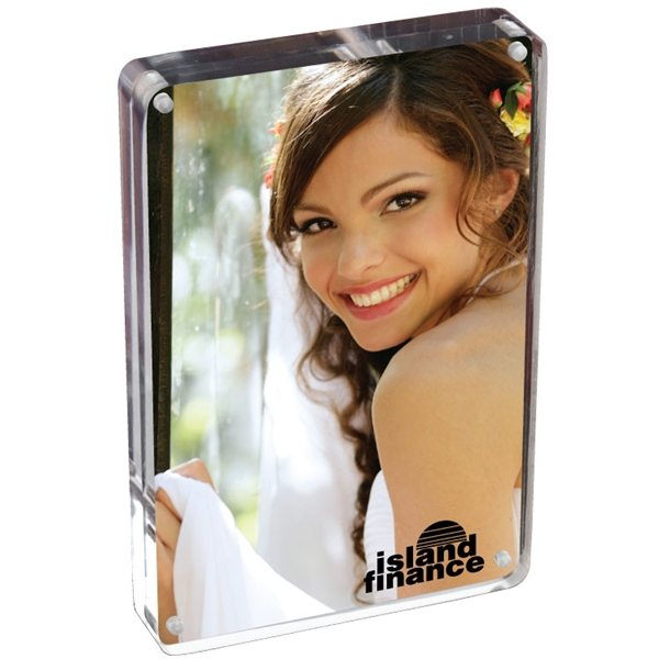 Promotional 4X6 Two Sided Acrylic Photo Frame