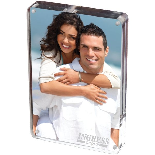 Promotional 5X7 Two Sided Acrylic Photo Frame