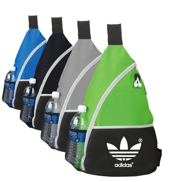 Promotional Polyester Clay Sling Backpack