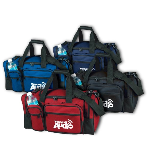 Promotional 600D Polyester Kent Deluxe Duffel