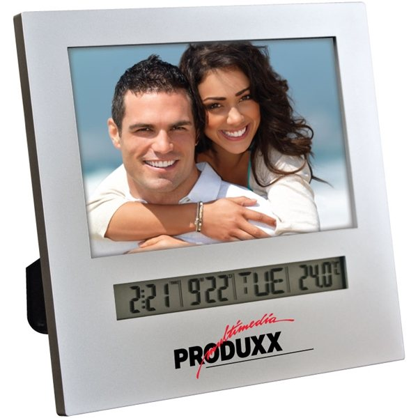 Promotional Photo Frame With Multifunction Digital Display