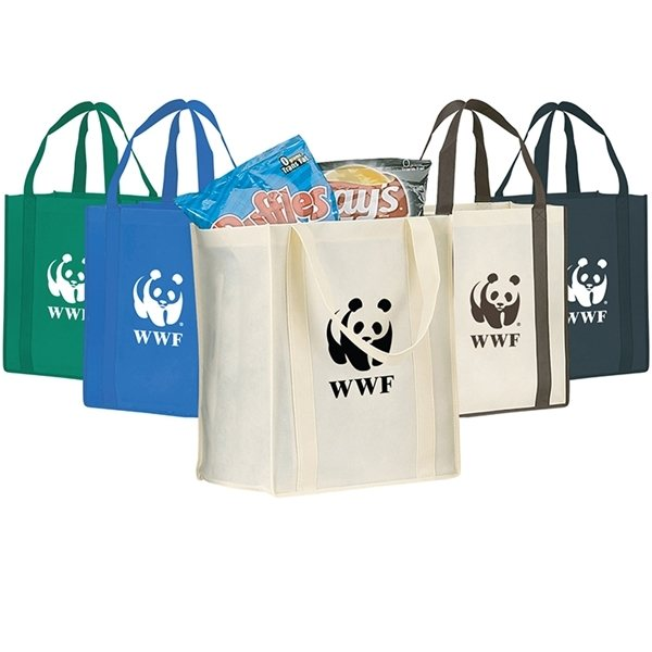 Promotional Canary Large Recyclable Tote