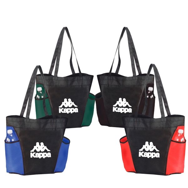 Promotional 90gm Non - Woven Polyproylene Cape Tote Bag