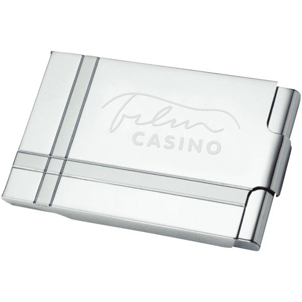 Promotional Contempo Business Card Holder