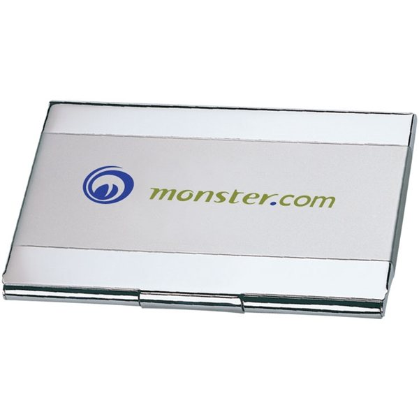 Promotional Dual Tone Business Card Holder
