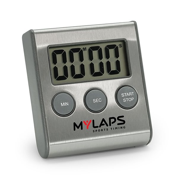 Promotional Large Display Stainless Steel Digital Timer