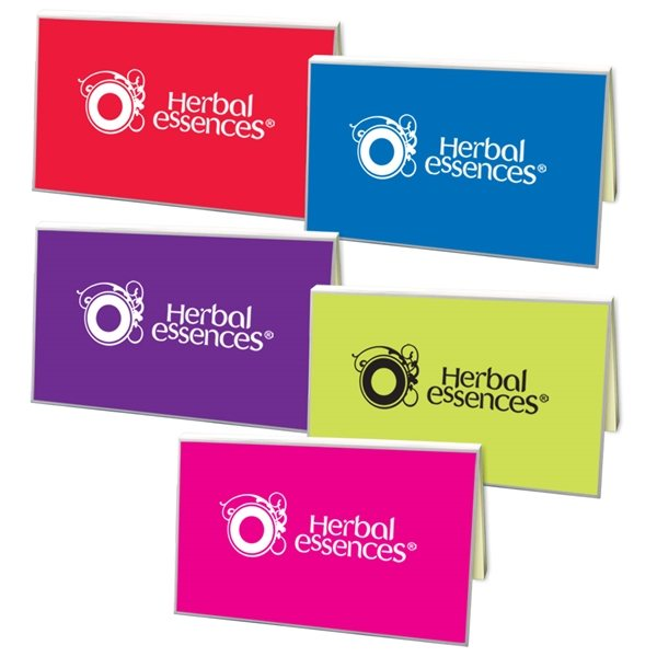 Promotional SimpliColor Sticky Notes with Flags