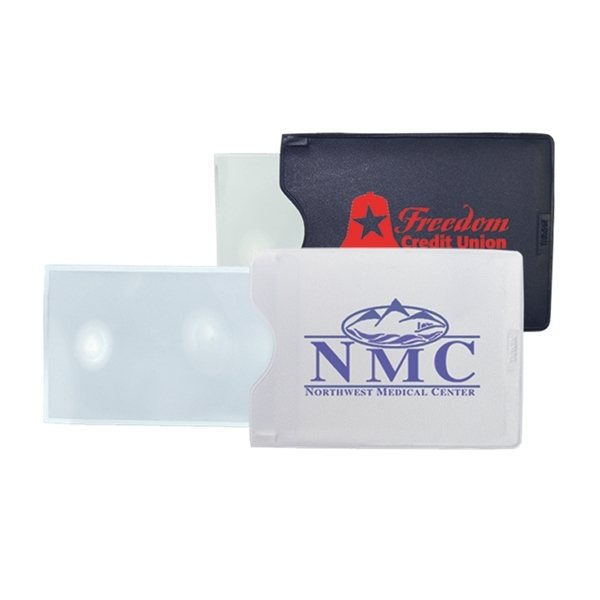 Promotional Business Card Pocket Magnifier