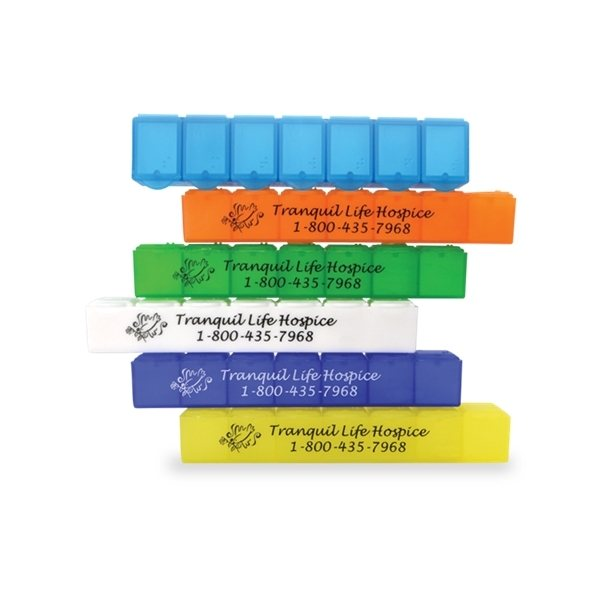 Promotional Big -7 All - Week Pill Box - 7