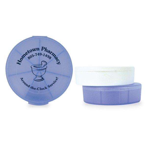 Promotional Med - Week Seven - Compartment Pill Box
