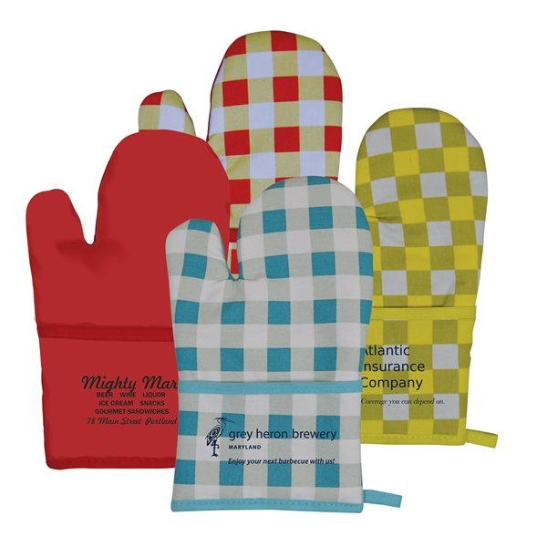 Promotional Therma - Grip Pocket Oven Mitt