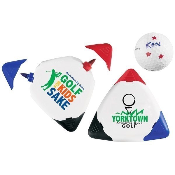 Promotional Triple Golf Ball Marker