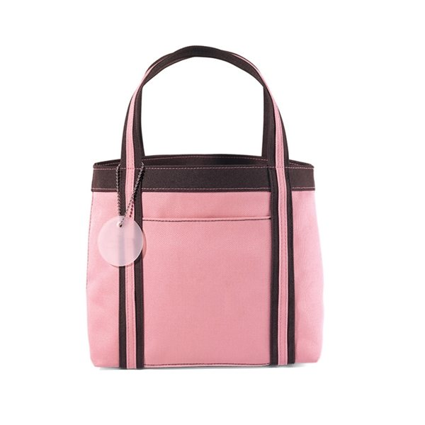 Promotional Pink / Brown Gemline Piccolo Mini Tote
