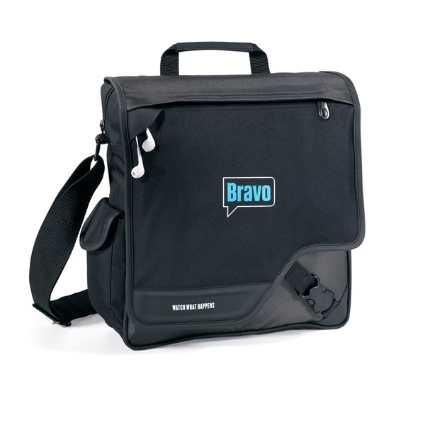Promotional Satellite Vertical Messenger Bag