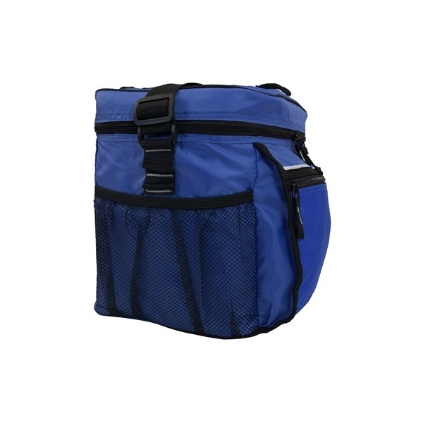 Promotional Polyester All Sport Zippin Cooler Bag II 24 Cans