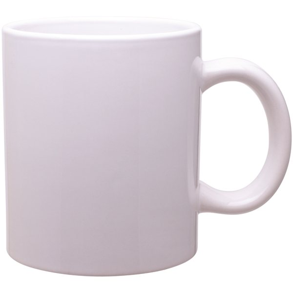 Promotional 20 oz C - Handle Mug - white