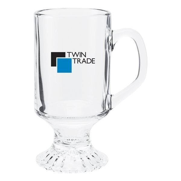 Promotional 10 oz Irish Coffee Mug - clear