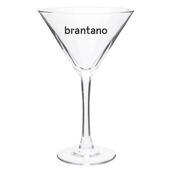 Promotional 10 oz Martini Clear - Clear