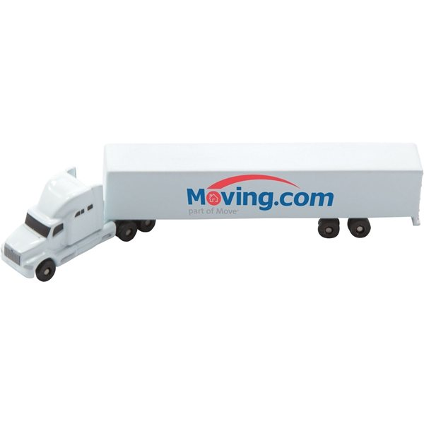 Promotional Die Cast Sleeper Truck With Trailer (1256 Scale)