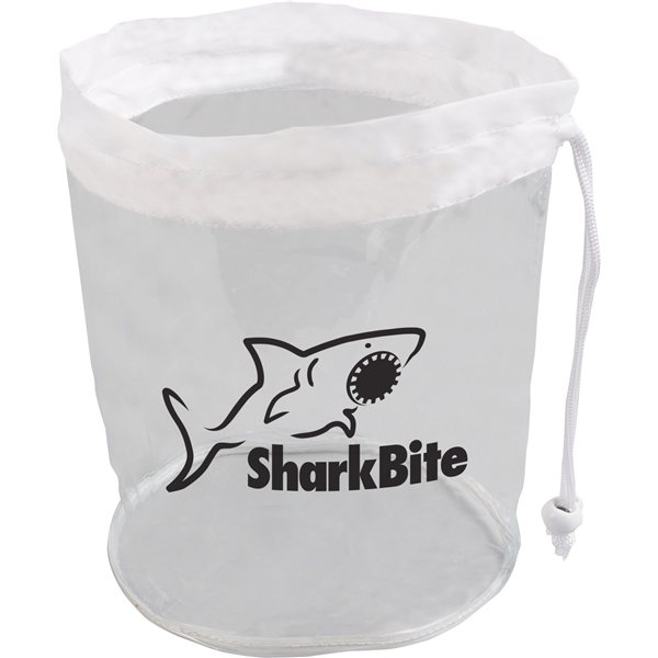 Promotional Small Clear Drawstring Bag