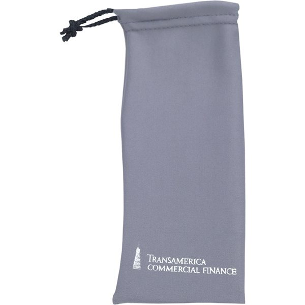 Promotional Cleaning Cloth Draw String Pouch