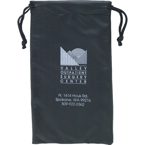 Promotional Leatherette Drawstring Pouch