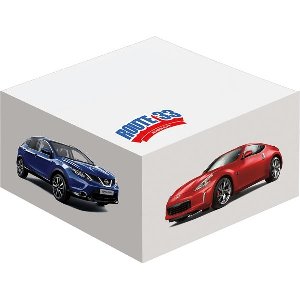 Promotional 4 X 4 Large Half Cube