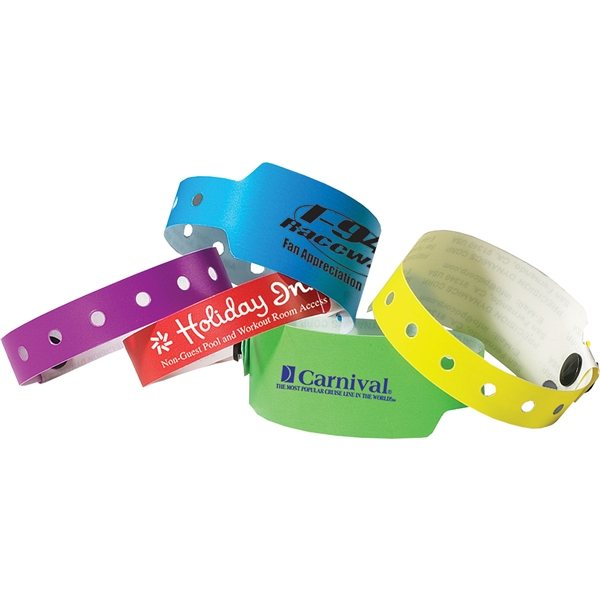 Promotional 1/2 Super Plastic Wristband