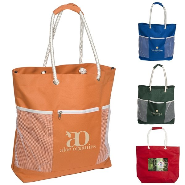 Promotional Polyester Seaside tote