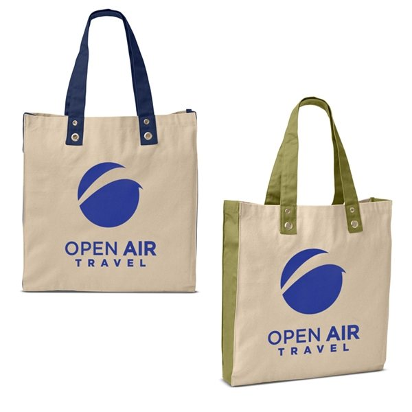 Promotional Natural Cotton Canvas Eco - World Tote