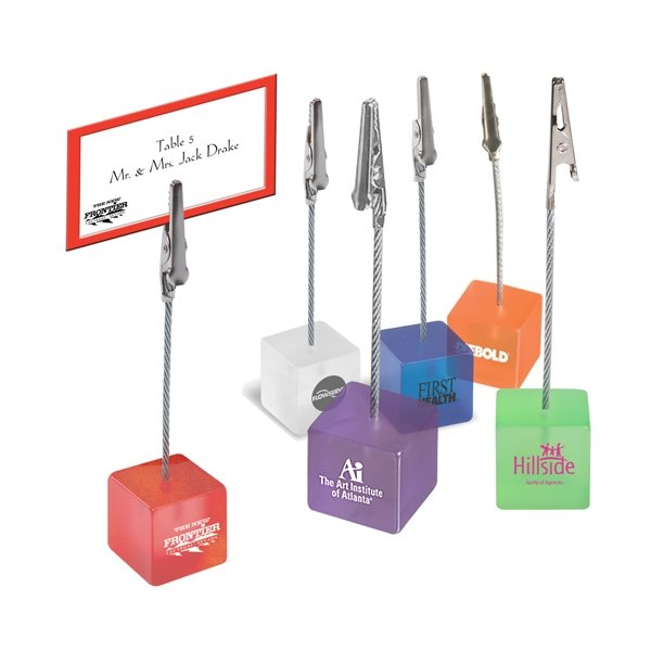 Promotional Paperweight with Bulldog Clip