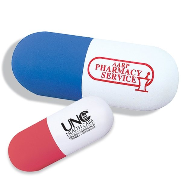 Promotional Pill Stress Reliever